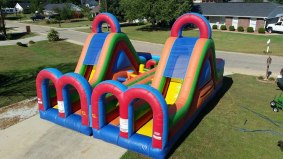Turbo Rush Double Obstacle Course - $375