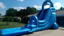 18 ft. Dolphin Slide w/ pool - $250