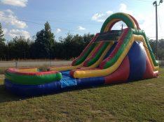 15 ft. dual lane slide - $225