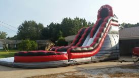 Tide Slide Dual Lane w/ pool - $350