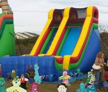 19ft. Multicolor Slide - $250