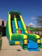 20 ft. Tropical Slide  - $250
